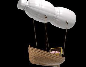 3D Balloon Boat