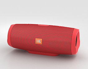 JBL Charge 3 Red 3D model