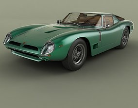 Bizzarrini GT 5300 Strada Alloy 3D