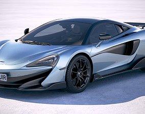 3D model McLaren 600LT 2019