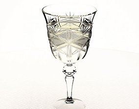 3D model Crystal Glass