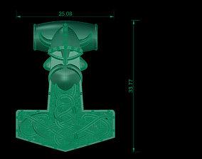 Viking pandent 3D print model