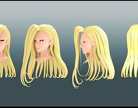 olivier mira armstrong Hair style 3D character