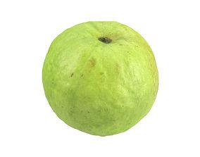 natural Photorealistic Guava 3D Scan