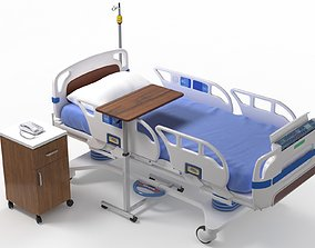 3D model realtime surgery Hospital Bed