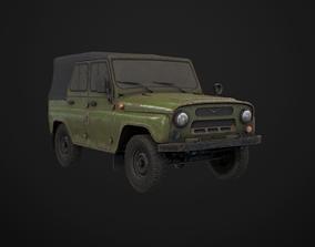 UAZ 469 Bobik 3D asset