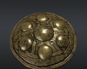 3D model Shield Gallic Vercingetorix