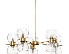 Crate and Barrel - Pearson Chandelier 3D model
