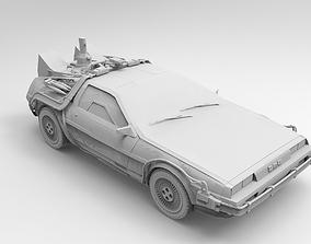DeLorean Back to the Future 3D print model