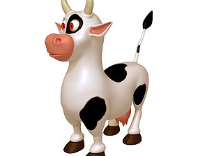 Cow Cartoon 3D