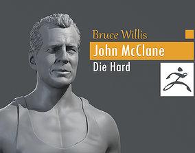 3D printable model Bruce Willis - John McClane - Die Hard