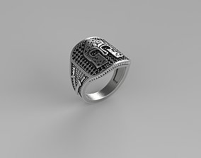 3D print model Spartan Signet Ring