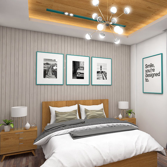 light color bedroom design