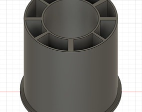 3D printable model Filament Spool Adapter
