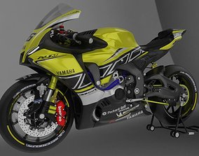 YZF R1-M 2020 Model with 60th Anniversary Livery 3D