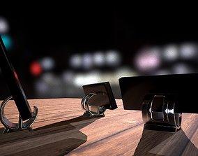 screen Mobile phone holder 3D print model