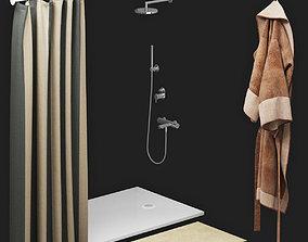 3D model Shower room