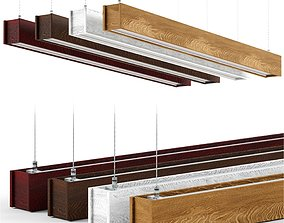 Hanging lamp living-room 3D model