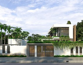 3D model Sustainable home design
