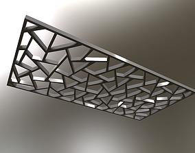Geometric Panels 3D model PBR