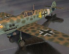 Messerschmitt Bf-109 E-7 Trop 3D model