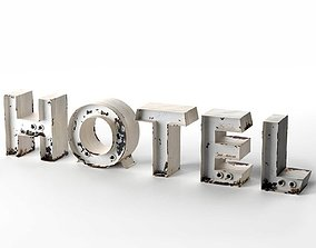 Hotel Title 3D