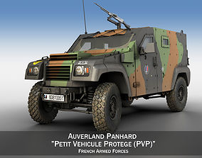 3D Auverland Panhard PVP - French Army