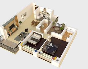 3D High details floorplan