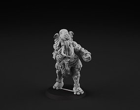 Elephant 4 3D printable model