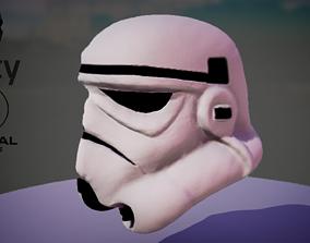 Stormtrooper Helmet 3D asset