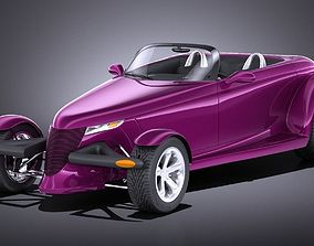Plymouth Prowler Concept 1993 VRAY 3D model
