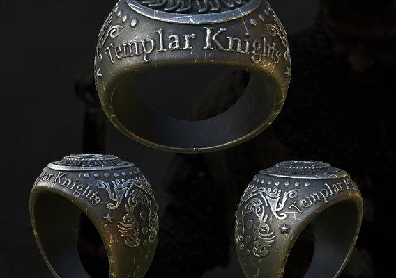 Templar Knights Ring