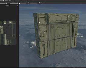 3D asset Blast Doors