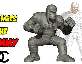 Bandages the Mummy - Dragon Ball 3D print model z