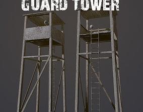 3D model PBR Guard Tower