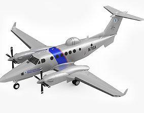 3D Beechcraft Super King Air 350CER
