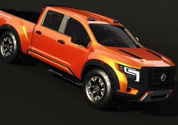 Nissan Titan Warrior 3D Models