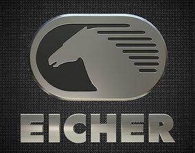 eicher logo 3D