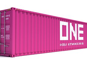 3D model Shipping Container ONE