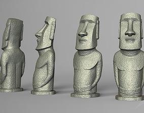 3D printable model Moai statue - Easter Island deco