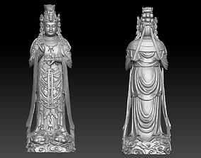 kwanyin 3D printable model Kwanyin bodhisattva