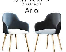 3D model Arlo Chair by Swoon Editions