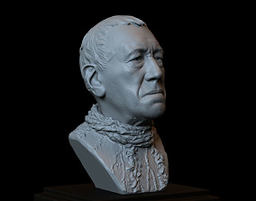 3D printable model Three Eyed Raven -Max Von Sydow- Game 4