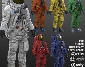 CS03 Space Suit 3D asset