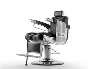 Bullfrog Barber Chair 3D