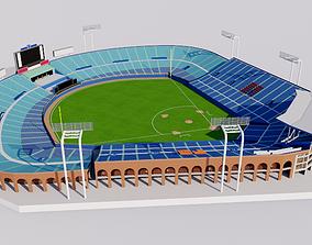 3D Meiji Jingu Stadium - Tokyo Japan