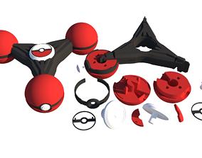 3D model Printed Fidget Spinner