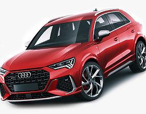 3D model Audi RS Q3 2020