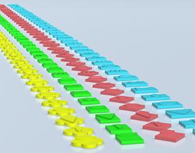 Nato Military Symbols 3D print model