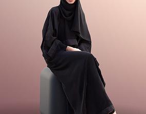 3D model Myriam 10009 - Traditional Sitting Girl